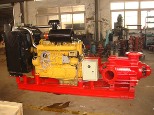 High Pressure Diesel Engine Fire Fighting Pump Package