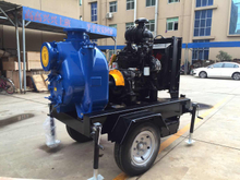 Variable Speed Portable Electric Trash Pump with Diesel Engine