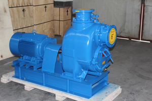 3 Inch Self Priming Electric Trash Pump with Semi Open Impeller
